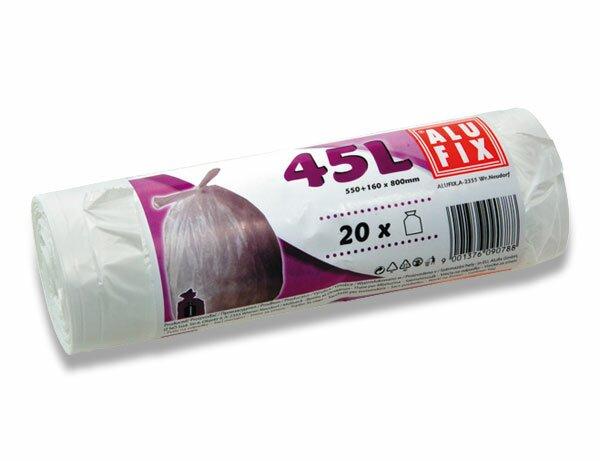 Pytle na odpadky Alufix 45 l, 20 ks, 10 mikronů