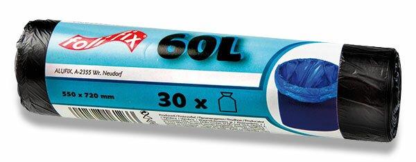 Pytle na odpadky Alufix 60 l, 30 ks, 7 mikronů
