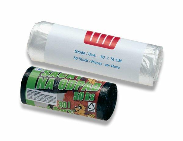 Pytle na odpadky Alufix 60 l, 50 ks, 9 mikronů
