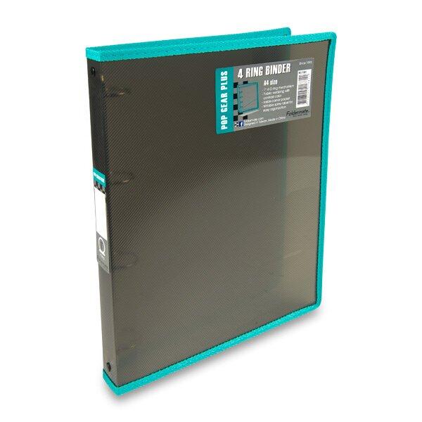 4 - kroužkový pořadač Foldermate Popgear Plus kouřový