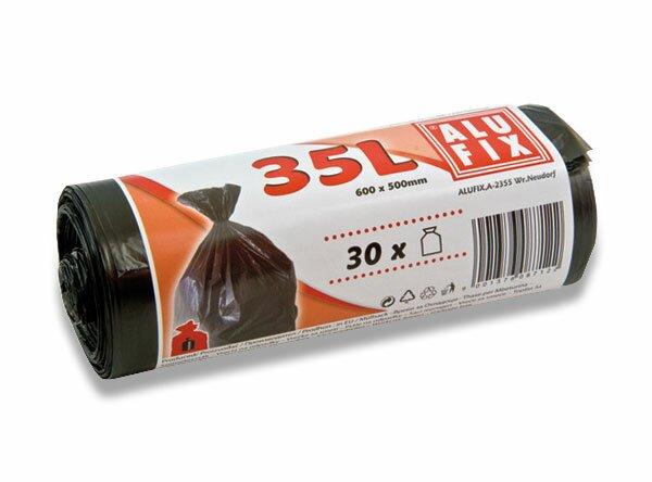 Pytle na odpadky Alufix 35 l, 10 ks, 15 mikronů