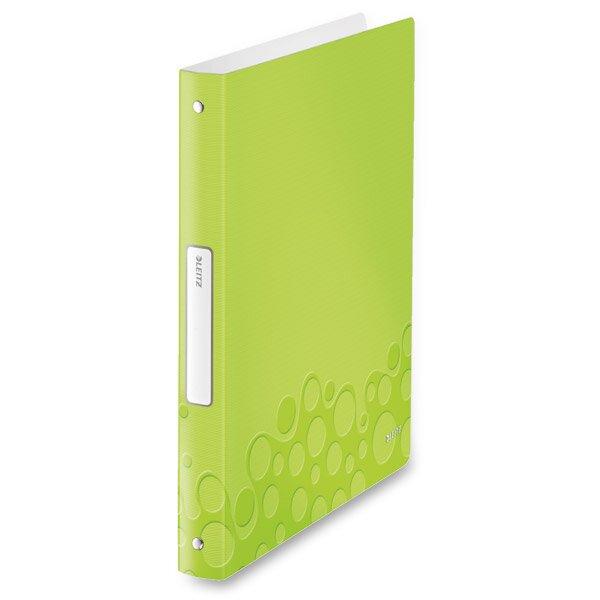 4 - kroužkový pořadač Leitz Style Wow zelený