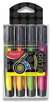 Obrázek produktu Zvýrazňovač Maped Fluo Peps Max - sada 4 barev