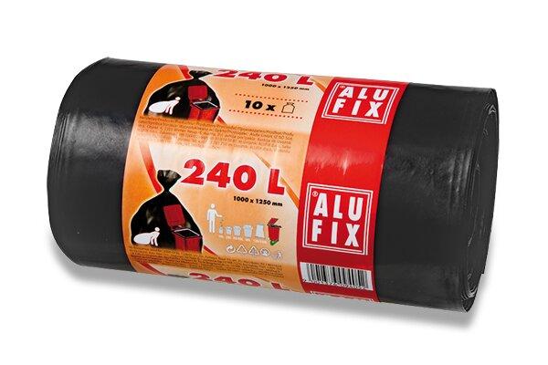 Pytle na odpadky Alufix 240 l, 10 ks, 35 mikronů
