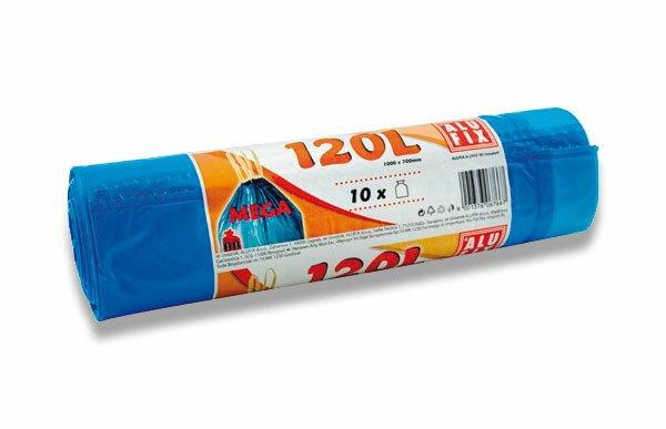 Zatahovací pytle na odpadky Alufix 120 l, 10 ks, 35 mikronů