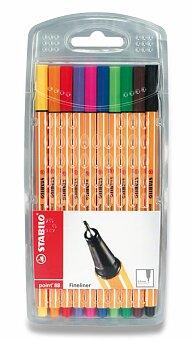 Obrázek produktu Liner Stabilo Point 88 - sada 10 barev