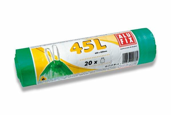 Úklidové pytle Alufix 45 l, 20 ks, 14 mikronů