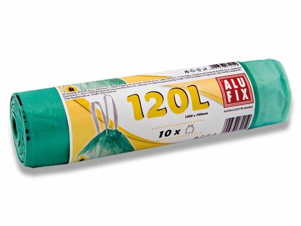 Úklidové pytle Alufix 120 l, 10 ks, 20 mikronů