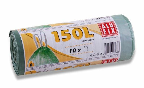 Úklidové pytle Alufix 150 l, 10 ks, 26 mikronů