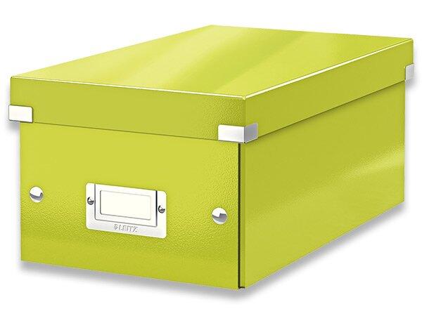 Box na DVD Leitz Click & Store zelený