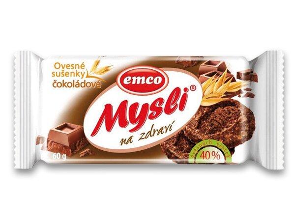 Musli sušenky Emco čokoláda