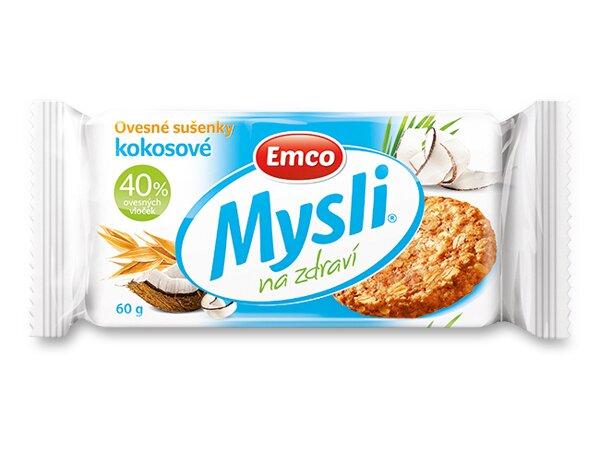 Musli sušenky Emco kokos
