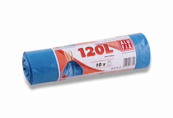 Aromatické pytle na odpadky Alufix 120 l, 10 ks, 23 mikronů