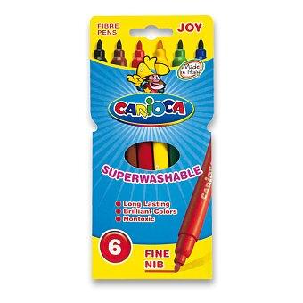 Obrázek produktu Dětské fixy Carioca Joy - 6 barev