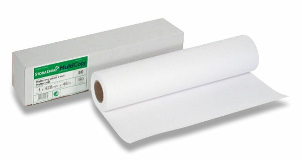 Plotterové role MultiCopy Original 80 g/m2, šíře 297 mm