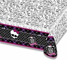Plastový ubrus Monster High