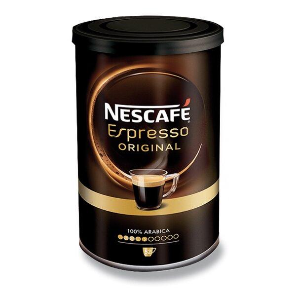Rozpustná káva Nescafé Espresso Original 95 g