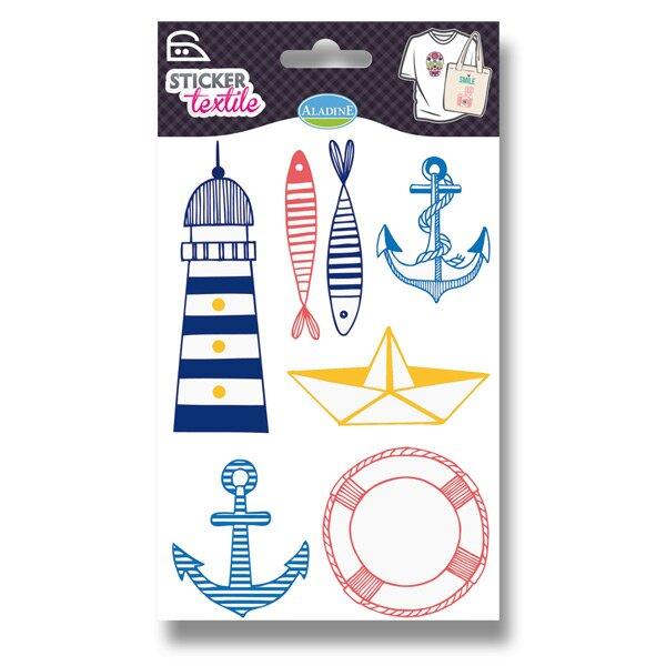 Nažehlovací nálepky na textil - Marina