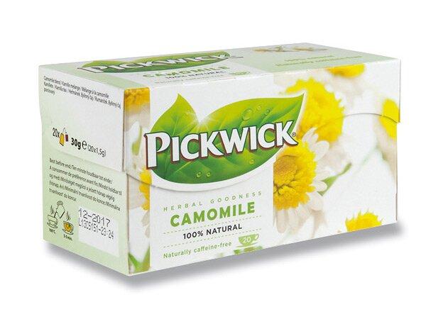 Bylinný čaj Pickwick Heřmánek 20 sáčků