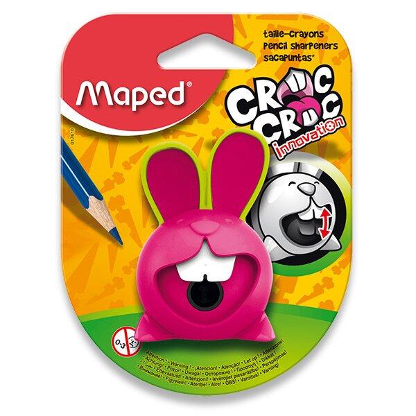 Ořezávátko Maped Croc Croc Innovation - s odpadní nádobou mix barev