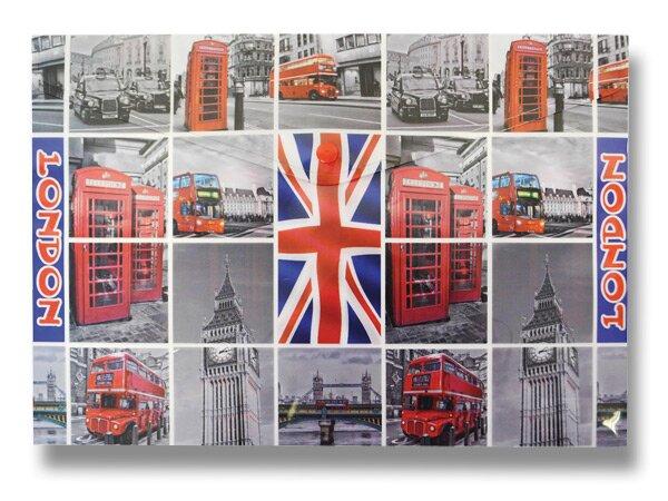 Spisové desky Design s drukem Londýn