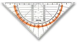 Geometrický trojúhelník Rotring Cento