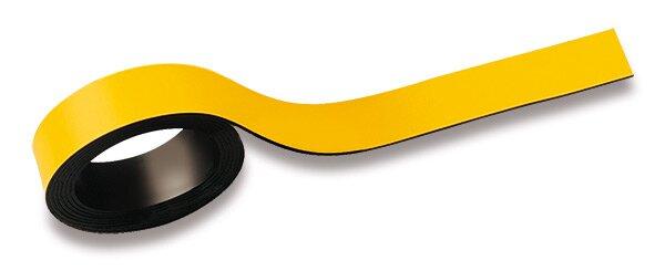 Magnetická páska Maul žlutá