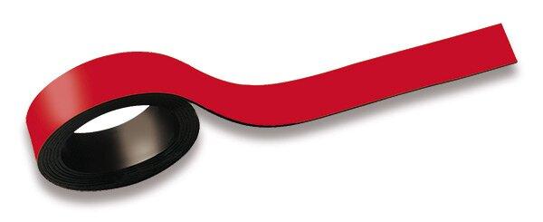 Magnetická páska Maul červená