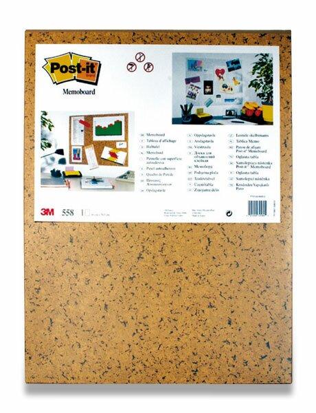 Samolepicí tabule 3M Post-It - 58,5 × 46 cm 58,5 x 46 cm, hnědá