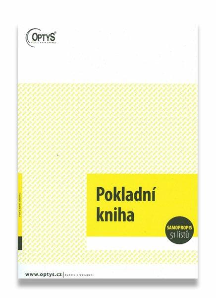 Pokladní kniha s DPH A4, samopropis, 51 listů