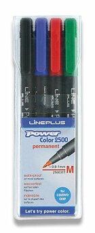 Obrázek produktu Permanentní popisovač Power Plus - sada 4 barev
