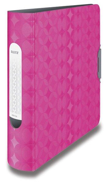 Pákový pořadač Leitz Retro Chic růžový/ šedý