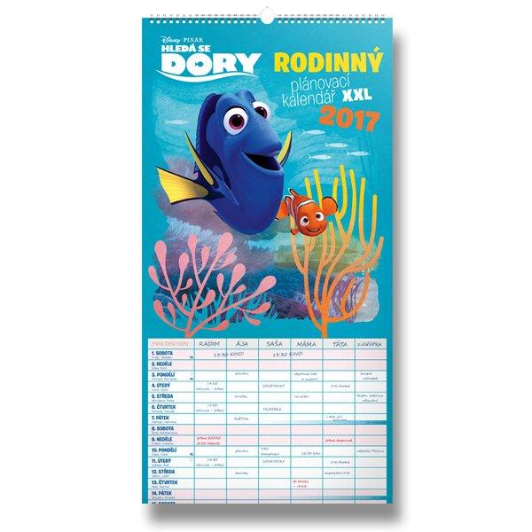Hledá se Dory Rodinný plánovací XXL kalendář