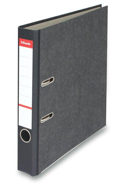Pákový pořadač Esselte Mramor A4, 50 mm, černý