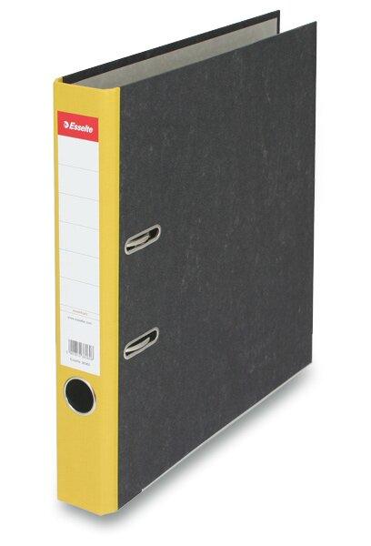 Pákový pořadač Esselte Mramor A4, 50 mm, žlutý
