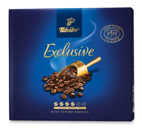 Mletá káva Tchibo Exclusive 2 x 250 g