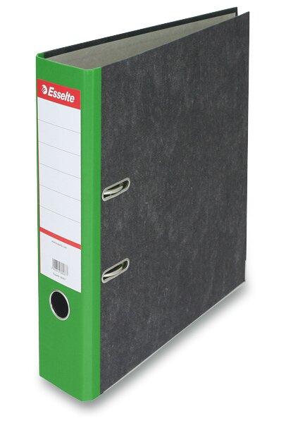 Pákový pořadač Esselte Mramor A4, 70 mm, zelený