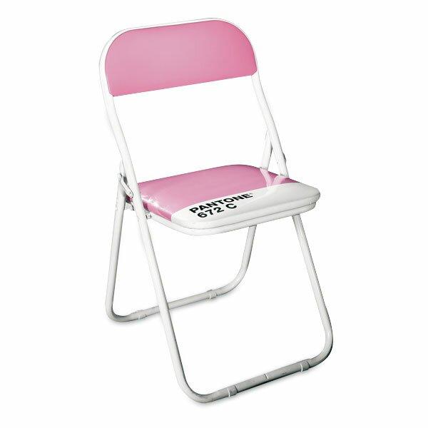 Dětská skládací židle Seletti Pantone světle růžová