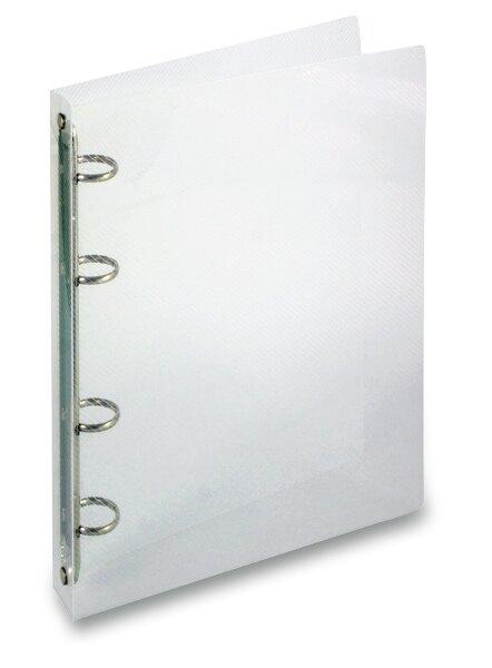 4kroužkový pořadač Transparent průhledný