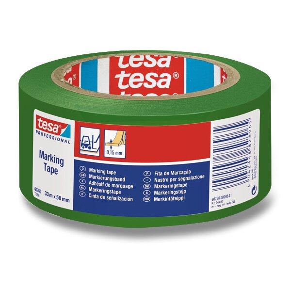 Značkovací samolepící páska Tesa Tape zelená