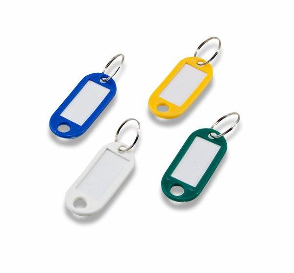 Jmenovka na klíče ConmetRON mix barev, 100 ks