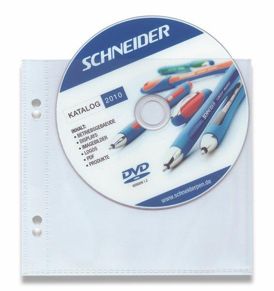 Zakládací obal na OA CD pocket na 1 CD, 10 ks