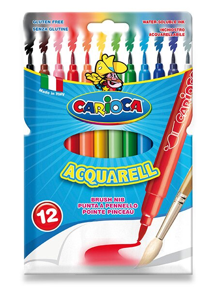 Fixy Carioca Acquarell 12 barev