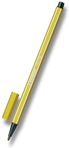 Fix Stabilo Pen 68 žlutý