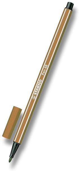 Fix Stabilo Pen 68 hnědý