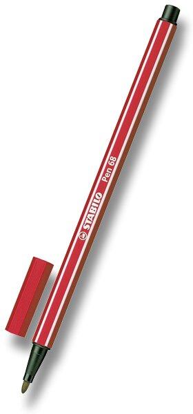 Fix Stabilo Pen 68 karmínový