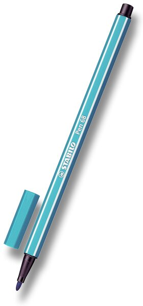 Fix Stabilo Pen 68 tyrkysový
