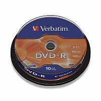 Zapisovatlené DVD Verbatim DVD-R