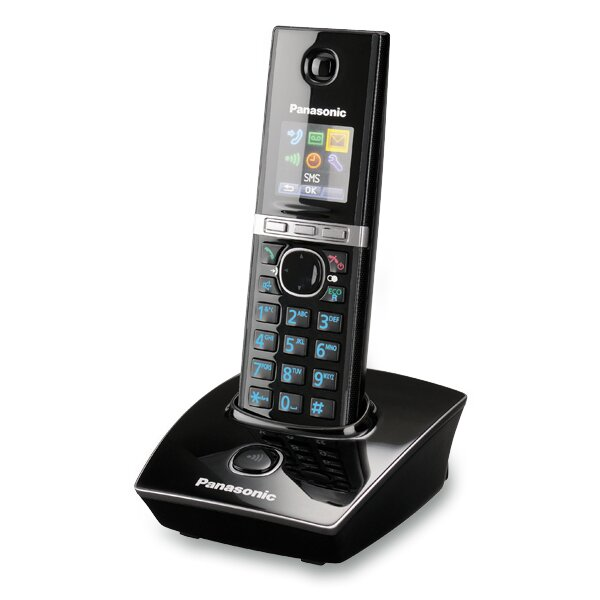Bezdrátový telefon Panasonnic KX-TG 8051FXB černý