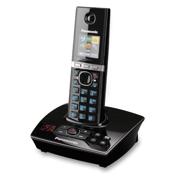 Bezdrátový telefon Panasonnic KX-TG 8061 FX B černý, se záznamníkem